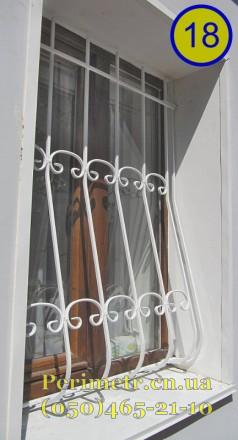 Решетки для окон, дверей, балконов в Чернигове и области. Мы предлагаем вам изго. Чернигов, Черниговская область. фото 6