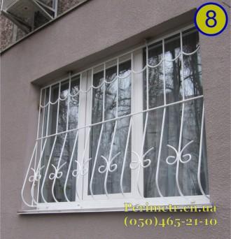 Решетки для окон, дверей, балконов в Чернигове и области. Мы предлагаем вам изго. Чернигов, Черниговская область. фото 5
