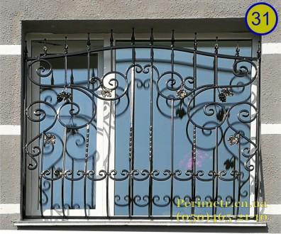 Решетки для окон, дверей, балконов в Чернигове и области. Мы предлагаем вам изго. Чернигов, Черниговская область. фото 2