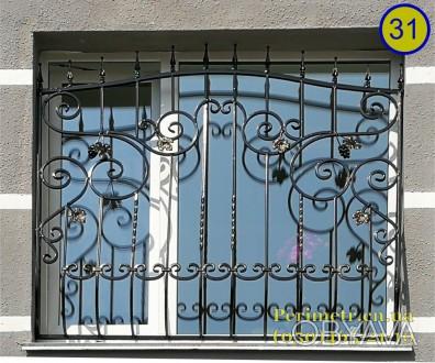 Решетки для окон, дверей, балконов в Чернигове и области. Мы предлагаем вам изго. Чернигов, Черниговская область. фото 1