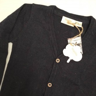"""Lupilu Тёмно-синяя кофточка (кардиган) для маленьких модников,из коллекции """"Pure. Киев, Киевская область. фото 3"""