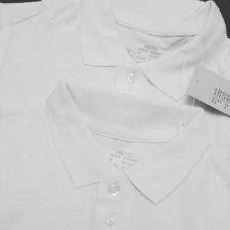 """Smart Start (Англия) Набор белых тенисок """"Polo Shirts"""" для мальчика.  Замечател. Киев, Киевская область. фото 3"""