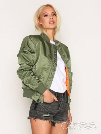 Жіноча куртка бомбер MA-1 W Flight Jacket (оливкова)