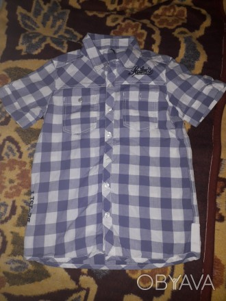 Летняя рубашка с короткими рукавами Benetton.