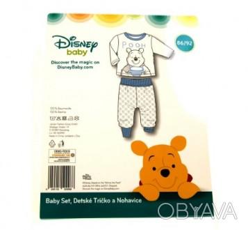 Пижама Disney Винни-пух для мальчика 74/80 86-92см 1-2 года