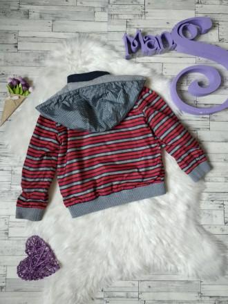 Куртка ветровка Gee Jay на мальчика в полоску в хорошем состоянии Размер 4-5 л. Кривий Ріг, Днепропетровская область. фото 8