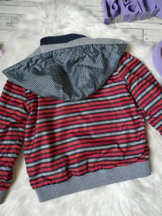 Куртка ветровка Gee Jay на мальчика в полоску в хорошем состоянии Размер 4-5 л. Кривий Ріг, Днепропетровская область. фото 9