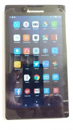 """Планшет Lenovo Tab 2 3G A7-30DC: Диагональ экрана  -  7"""" (IPS) Оперативная пам. Киев, Киевская область. фото 2"""