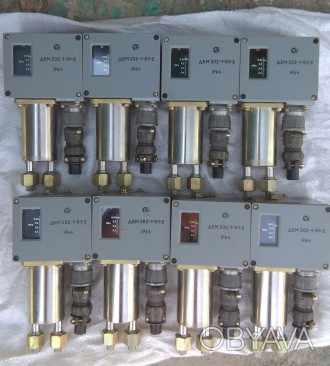 Датчик-реле разности давления ДЕМ-202-1-01-2. Датчик дифференциального давления