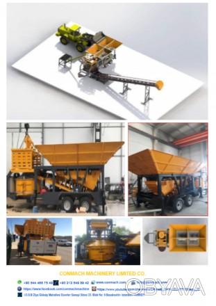 CONMACH мини-завод для производства бетона 30 м3/ч