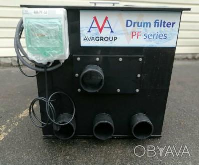 Улучшенный Барабанный фильтр самоочищающийся PF-50 для УЗВ и пруда