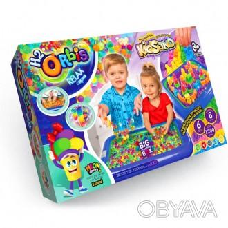 Набор для творчества, гидрогелевые шарики H2Orbis – Big creative box Danko Toys