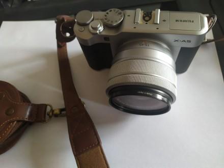 Продам фотоаппарат Fyjifilm x-A5 в хорошем состоянии. В комплекте чехол, карта п. Мариуполь, Донецкая область. фото 4