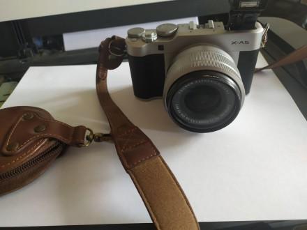 Продам фотоаппарат Fyjifilm x-A5 в хорошем состоянии. В комплекте чехол, карта п. Мариуполь, Донецкая область. фото 3