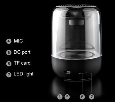 Мини-динамик Bluetooth - C7 имеет светодиодную подсветку которая срабатывает в т. Бровары, Киевская область. фото 3