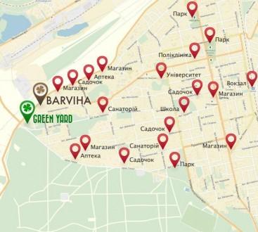 Вашему вниманию предлагается новая 2-х комнатная квартира в клубном доме в город. Green Yard ЖК, Ирпень, Киевская область. фото 12