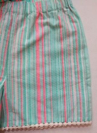 Красивый мятный комплект в полосочку от английского бренда George для девочки в . Измаил, Одесская область. фото 4