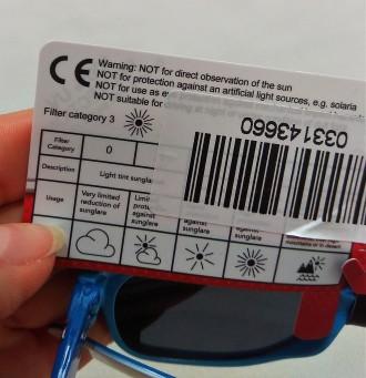 Голубые солнечные очки от бренда Disney для мальчика. Красивые, в оригинальной . Измаил, Одесская область. фото 6