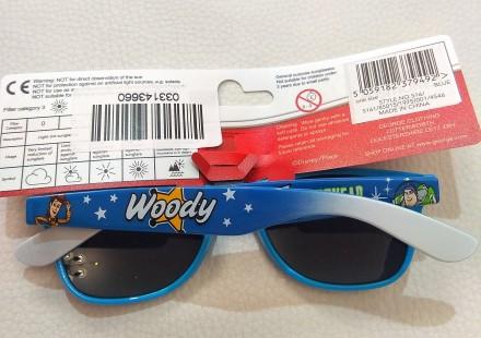 Голубые солнечные очки от бренда Disney для мальчика. Красивые, в оригинальной . Измаил, Одесская область. фото 3