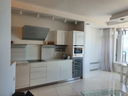 4 комнатная квартира Мост Сити с ремонтом Панорамный вид на Днепр.  Этаж - 18. Центр, Днепр, Днепропетровская область. фото 5