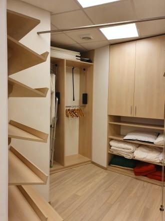 4 комнатная квартира Мост Сити с ремонтом Панорамный вид на Днепр.  Этаж - 18. Центр, Днепр, Днепропетровская область. фото 13