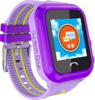 Детские часы с GPS трекером DF27 выполняют главную функцию безопасности, а именн. Херсон, Херсонская область. фото 2