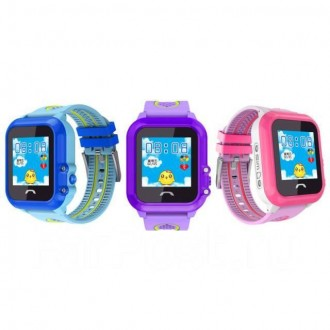 Детские часы с GPS трекером DF27 выполняют главную функцию безопасности, а именн. Херсон, Херсонская область. фото 5