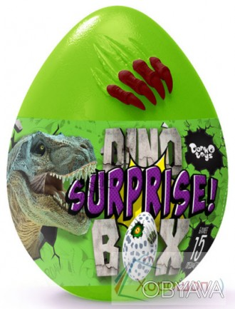Яйцо сюрприз динозавра 30 см. - Dino surprise box - Danko Toys dsb-01-01