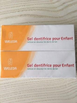 Зубной гель WELEDA для детей от 6 месяцев Изготовлен в Германии Объем - 50 ml.. Бровары, Киевская область. фото 4