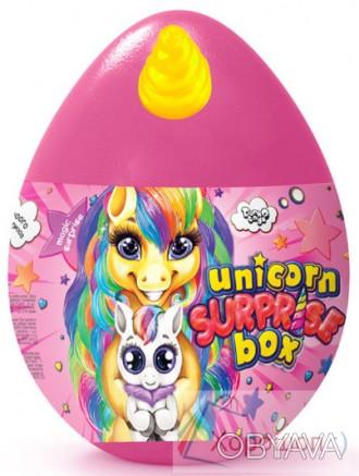 Яйцо сюрприз Единорога 30 см. - Unicor surprise box - Danko Toys usb-01-01