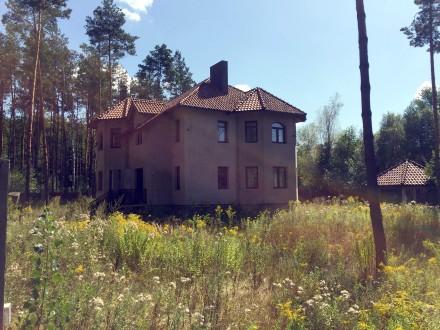 Новый дом в лесу. С. Пряжево Житомирского района. 8 км от Житомира. Асфальтир. Пряжево, Житомирская область. фото 3