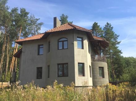 Новый дом в лесу. С. Пряжево Житомирского района. 8 км от Житомира. Асфальтир. Пряжево, Житомирская область. фото 2