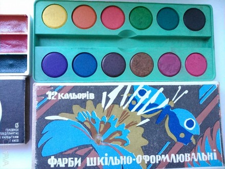 Продам новые советские краски: Цена указана за все. В скобках возле каждой крас. Киев, Киевская область. фото 3