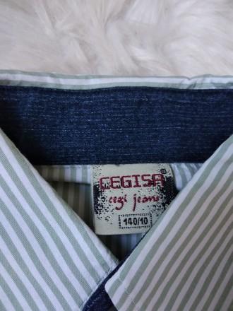 Рубашка реглан лонгслив Cegisa на мальчика в полоску в идеальном состоянии Раз. Кривой Рог, Днепропетровская область. фото 4