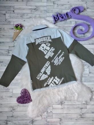 Рубашка реглан лонгслив Cegisa на мальчика в полоску в идеальном состоянии Раз. Кривой Рог, Днепропетровская область. фото 6