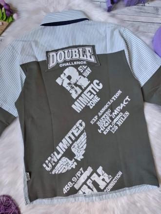 Рубашка реглан лонгслив Cegisa на мальчика в полоску в идеальном состоянии Раз. Кривой Рог, Днепропетровская область. фото 7
