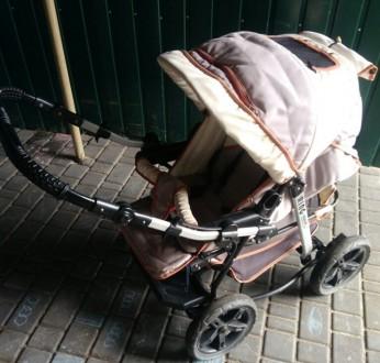 Продам детскую коляску, есть большая багажная корзина. Проходимость очень хороша. Кривий Ріг, Дніпропетровська область. фото 3