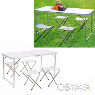 Стол раскладной + 4 стула STYLEBERG