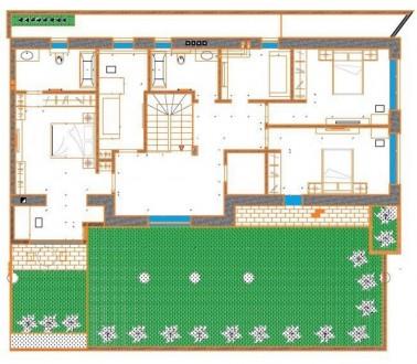 Продам новый,элитный дом на 7й станции Большого Фонтана  Один из лучших домов на. Большой Фонтан, Одесса, Одесская область. фото 5