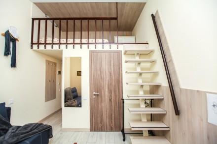 Сдаётся квартира-студия со свежим ремонтом в 2-х этажном доме в центре Одессы на. Приморский, Одесса, Одесская область. фото 6