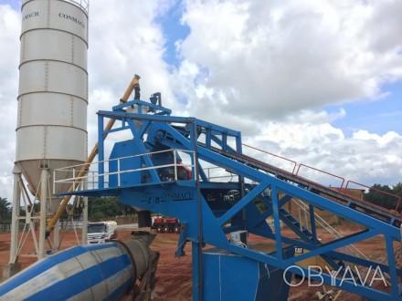 Бетонный завод Conmach MobKing-60