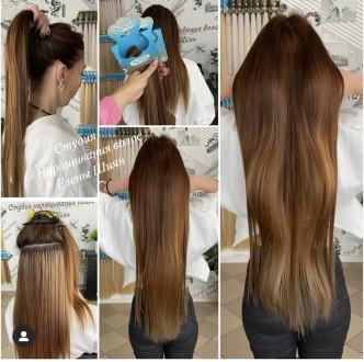В студии наращивания волос Елены Шиян вас ждет огромный выбор волос любой длины,. Николаев, Николаевская область. фото 9
