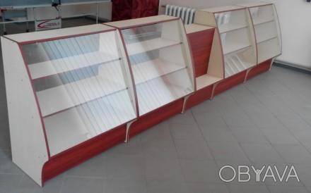 Новые торговые прилавки витрины, касса, вітрина. Доставка по Украине.