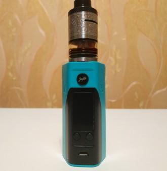Батарейный мод Wismec Reuleaux RX200S Black/Blue описание тут: https://ek.ua/WI. Киев, Киевская область. фото 5