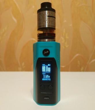 Батарейный мод Wismec Reuleaux RX200S Black/Blue описание тут: https://ek.ua/WI. Киев, Киевская область. фото 2