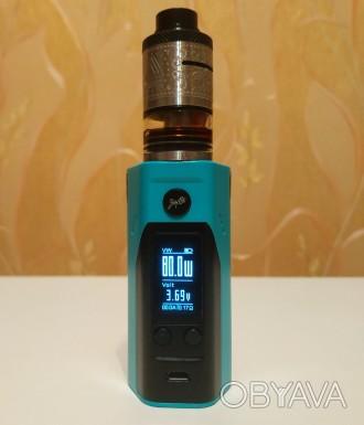 Батарейный мод Wismec Reuleaux RX200S Black/Blue описание тут: https://ek.ua/WI. Киев, Киевская область. фото 1