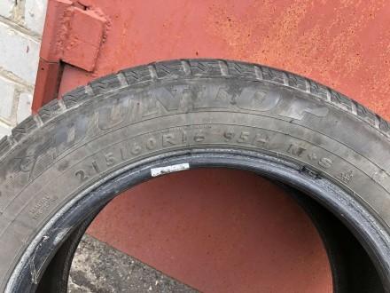 Продам шины Dunlop Winter Sport 5 215/60 R16 95H , б\у( зима).Отличное состояние. Днепр, Днепропетровская область. фото 3