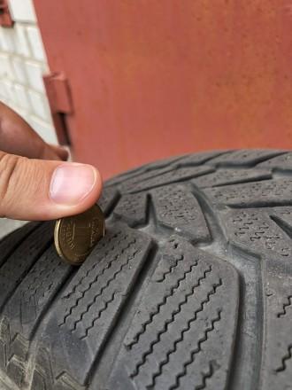 Продам шины Dunlop Winter Sport 5 215/60 R16 95H , б\у( зима).Отличное состояние. Днепр, Днепропетровская область. фото 4