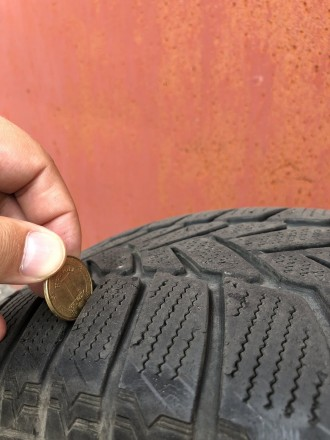 Продам шины Dunlop Winter Sport 5 215/60 R16 95H , б\у( зима).Отличное состояние. Днепр, Днепропетровская область. фото 5