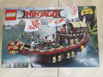 Lego 60194- грузовик Ледяной разведки.  Lego 70618 корабль мастера Ву - 4350 гр. Херсон, Херсонская область. фото 3
